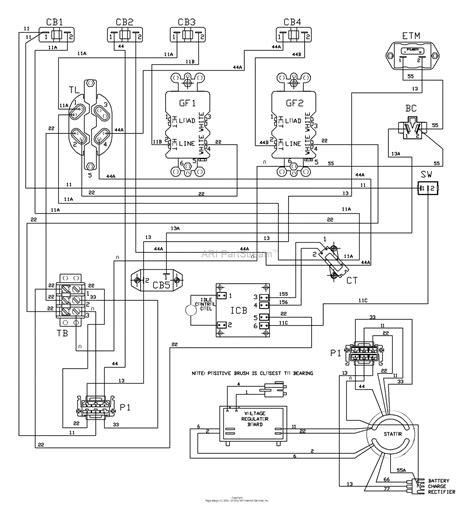 wiring diagram  husqvarna rzf
