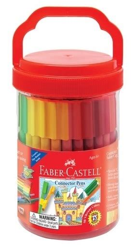 Connector Pen Faber Castell Isi 50 Warna buy faber castell connector pen at mighty ape nz