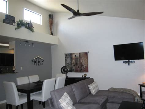 Big Living Room Fan Haiku Ceiling Fans Contemporary Living Room