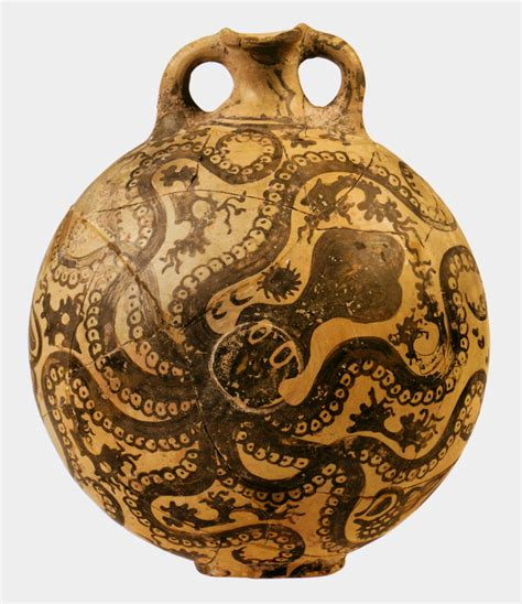 Octopus Vase Minoan by Front