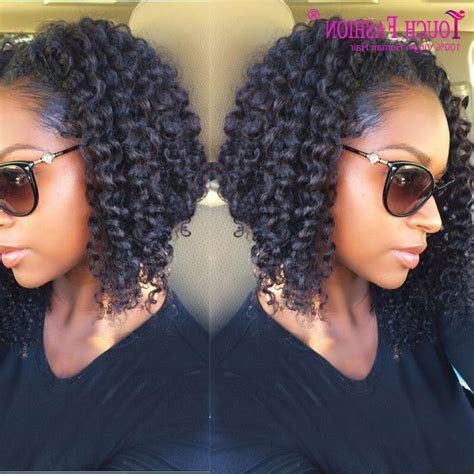 Curly Hairstyles For Black With Hair by Curly Black Bob Hairstyle Fade Haircut