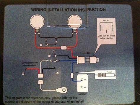 toyota hilux fog lights wiring diagram