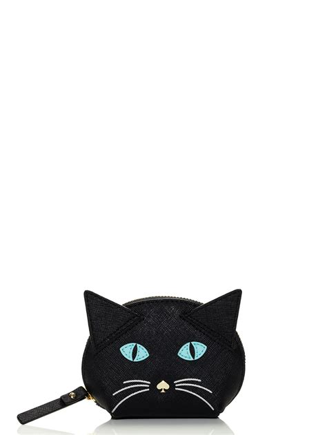 Clutch Meow 1 kate spade cat s meow cat coin purse in black lyst