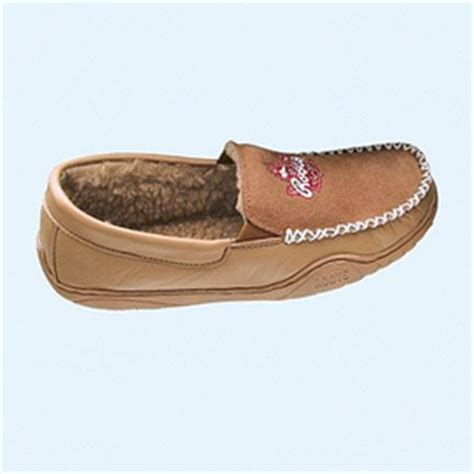 roots slippers canada roots 174 s leather suede moccasin style slippers sears