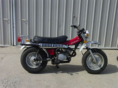 Suzuki Trail Suzuki Rv 125 Mini Bike Moped Pit Bike Trail Bike Honda