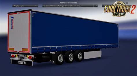 schmitz  ets  mods truck mods euro truck