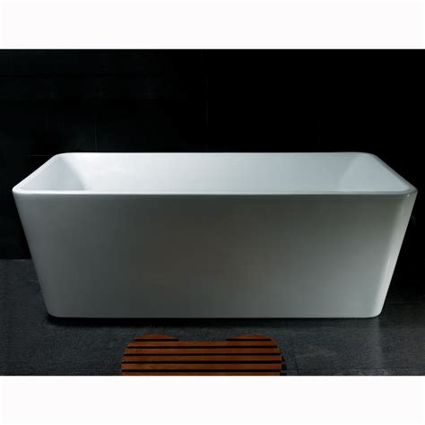 buy bathtub online buy junoshowers 67 quot freestanding white color acrylic