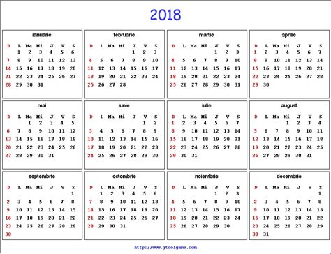 Romania Calendrier 2018 Unique Calendar 2018 Romana Simple Russian Square N