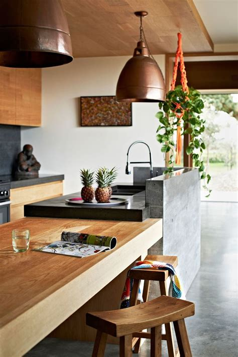 kitchen bench materials best 25 timber kitchen ideas on pinterest modern