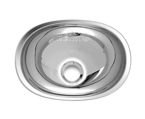 Wohnwagen Waschbecken Polieren by Waschbecken Oval Edelstahl 432x305x130 64033 Reimo