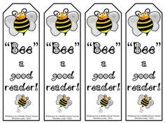 printable bookmarks for high school students bee on pinterest bee theme bumble bees and bees