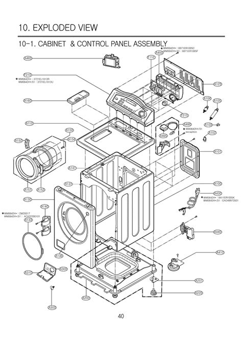 lg front load washer parts diagram i a lg front load washer model wm0642hw the door
