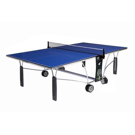 indoor table tennis table cornilleau indoor sport 250 rollaway table tennis table