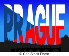 testo bandiera archivio illustrazione di testo ceco praga bandiera