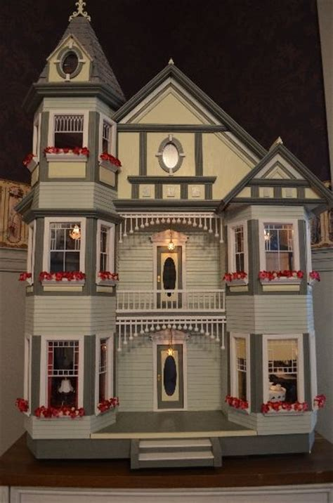 ladybird dolls house painted ladies doll houses and tags on pinterest