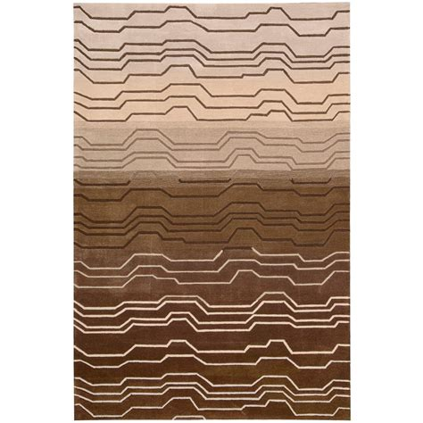 Nourison Overstock Contour Natural 5 Ft X 7 Ft 6 In Overstock Area Rugs