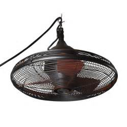 industrial outdoor ceiling fan shop allen roth valdosta 20 in rubbed bronze downrod