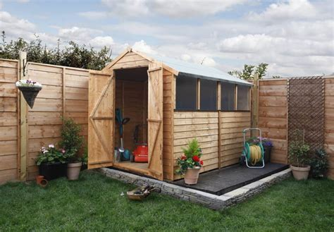 Base For Shed by How To Build A Shed Base Garden Buildings Direct