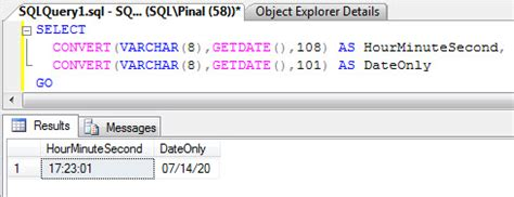 format date sql sql server get time in hour minute format from a
