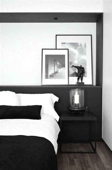black bedroom ideas pinterest noir et blanc 15 id 233 es d 233 co pour un look scandinave tr 232 s