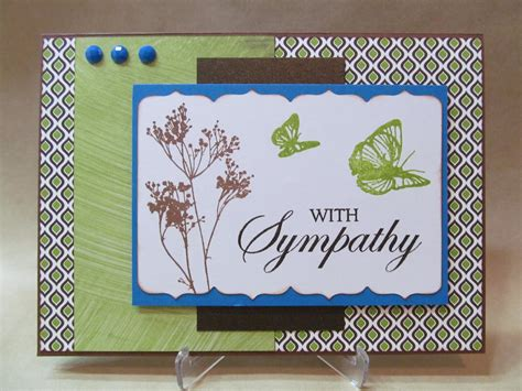 Exles Of Handmade Cards - savvy handmade cards with sympathy card