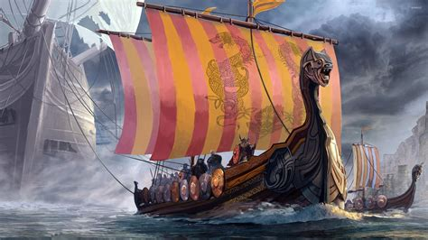 viking longboat wallpaper viking art wallpaper www imgkid the image kid has it