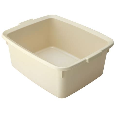 addis large plastic rectangular washing up kitchen sink addis large cream plastic rectangular belfast sink washing