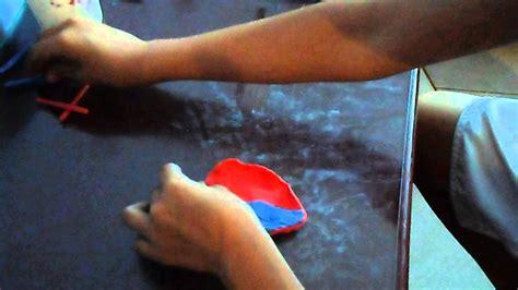 como hacer maquetas de corazon clases de coraz 243 n en plastilina parte 4 youtube