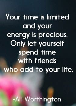 Spends Time With by Time Spent With Friends Quotes Quotesgram