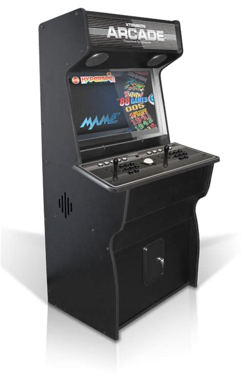 arcade cabinate 32 quot pro upright xtension arcade cabinet emulator edition