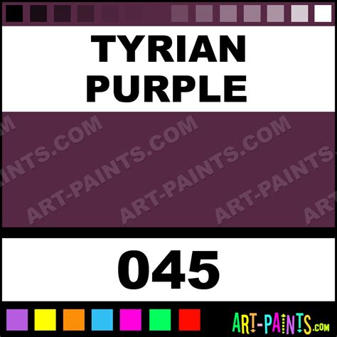tyrian purple tyrian purple antique gouache paints 045 tyrian purple