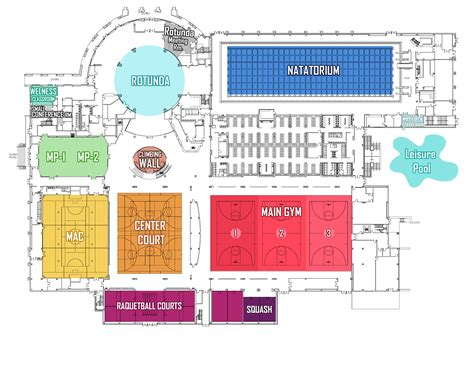 Sample Classroom Floor Plans by Campus Recreation University Of Houston