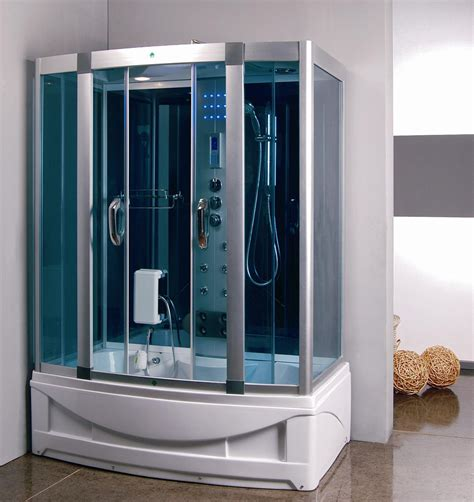 shower bath whirlpool steam shower room with whirlpool tub 9004 constar usa