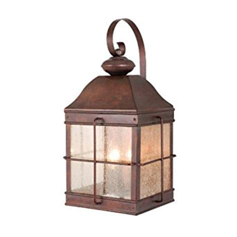 colonial outdoor lighting fixtures vaxcel usa ow39593rbz revere 3 light colonial outdoor wall