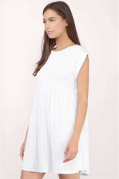 Dress Of The Day Jersey Babydoll by Grey Dress Grey Dress Babydoll