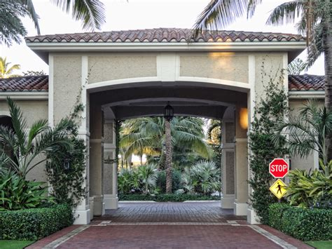 Florida Homes Floor Plans breakers porte cochere south porte cochere at the