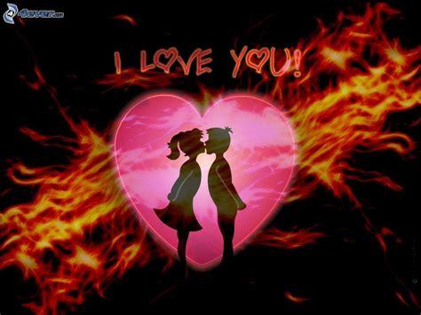 imagenes l love you i love you