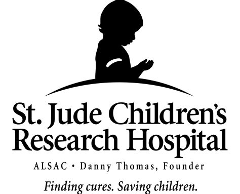 st jude childrens hospital logo sketch coloring page
