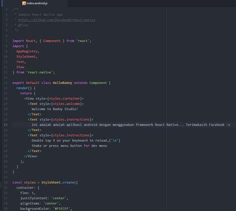 membuat form login pada android studio atom badoy studio