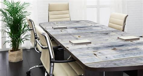 woodworking cling table grey reclaimed wood decals erase furniture skins