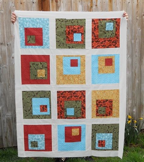 concrete log cabin quilt block favequilts