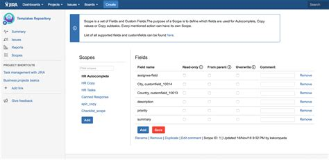 jira templates issue templates for jira atlassian marketplace