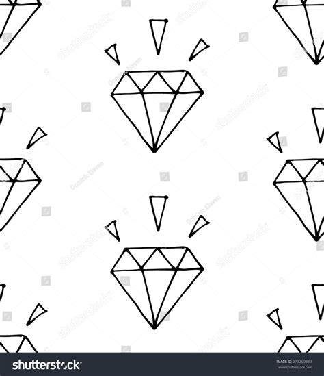 diamond pattern vector illustrator pattern diamond simple seamless vector hand stock vector