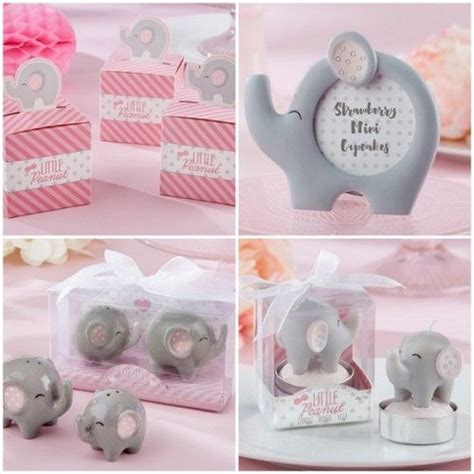 Baby Shower Favors Elephant by Pink And Grey Elephant Baby Shower Favors From Hotref