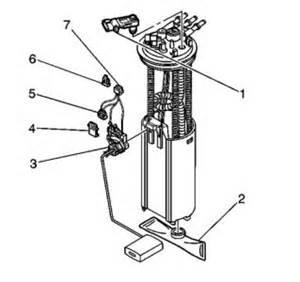 2001 Isuzu Rodeo Fuel Level Sensor Fuel Tank Pressure Sensor Isuzu Fuel Tank Pressure Sensor