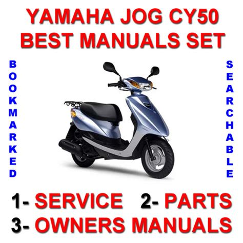 Yamaha Jog Cy50 Service Owner Parts Improved 3 Manuals