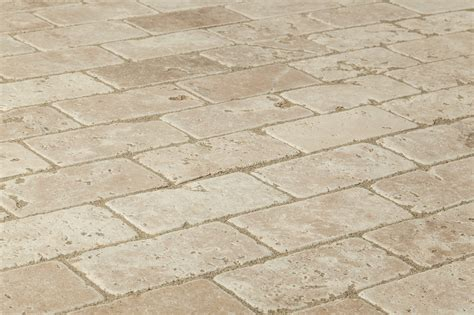 merida travertine tiles tumbled durango classico beige rustic 3 quot x6 quot x3 8 quot tumbled