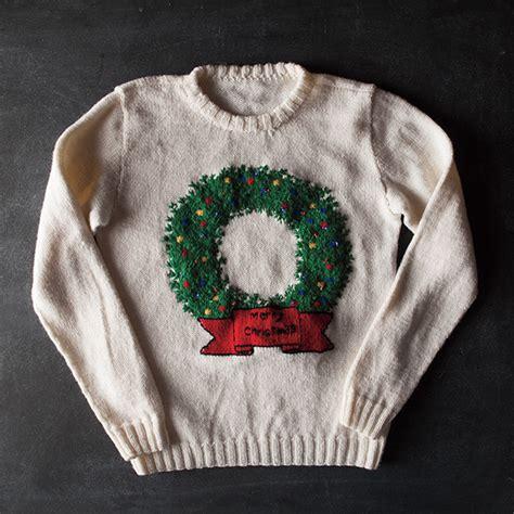 free knitting pattern ugly christmas sweater the best of the worst ugly sweaters 2015 free knitting