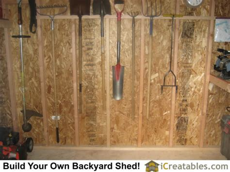 how to hang tools in shed 8x12 shed plans buy easy to build modern shed designs