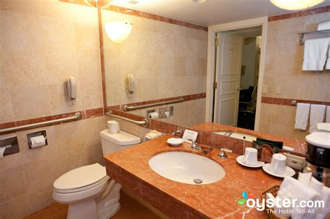 standard hotel bathroom bathroom in the standard room at the hilton manhattan east